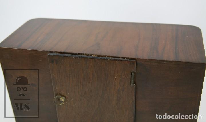 Relojes de carga manual: Antiguo Reloj Art Déco de Sobremesa - Marca Original, Caja Rectangular - Años 30-40 - Funcionando - Foto 8 - 119427855