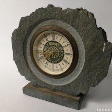 Relojes de carga manual: ANTIGUO RELOJ DE SOBRE MESA ALEMAN DE PIEDRA. CARGA MANUAL.. Lote 119478828