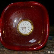 Horloges à remontage manuel: RELOJ SOBRE CRISTAL DE MURANO, ITALIA. Lote 119709119