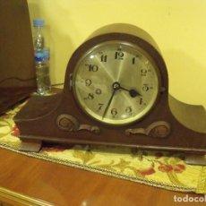 Relojes de carga manual: ¡¡GRAN OFERTA!!!!PRECIOSO RELOJ SOBREMESA EN ROBLE DE ALEMANIA- ESTILO NAPOLEON_ AÑO 1910-20. Lote 119991695