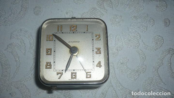 RELOJ ANTIGUO BAYARD DESPERTADOR (Relojes - Sobremesa Carga Manual)