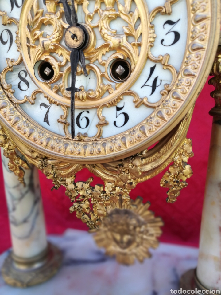 Relojes de carga manual: Reloj siglo XIX - Foto 3 - 120970024