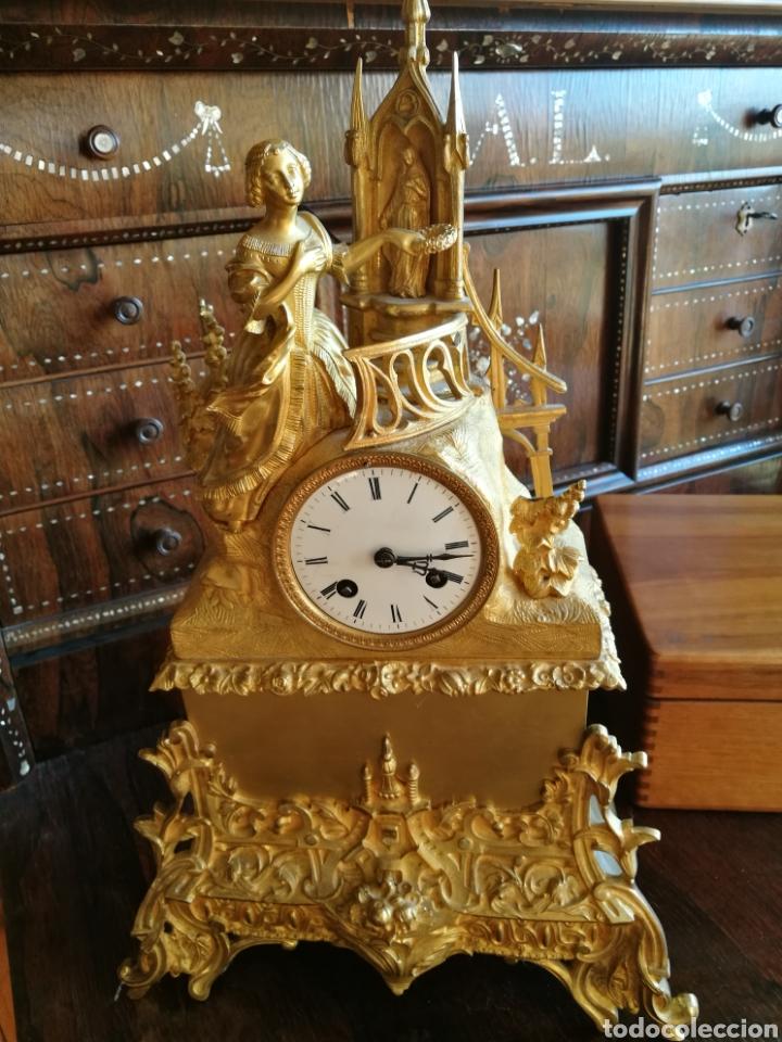 Relojes de carga manual: Reloj siglo XIX - Foto 2 - 120970734