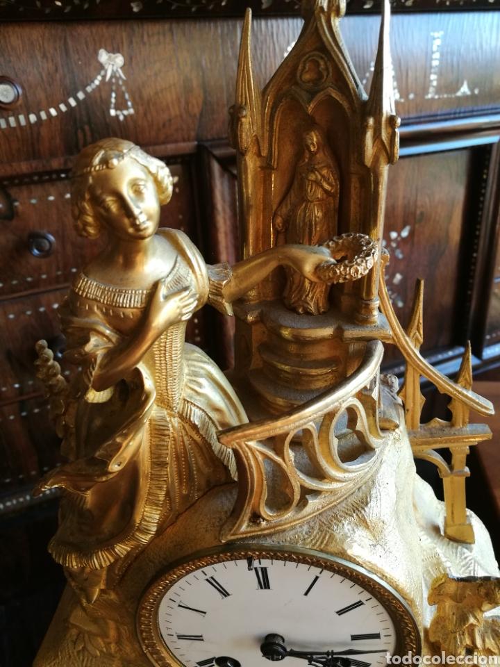 Relojes de carga manual: Reloj siglo XIX - Foto 3 - 120970734