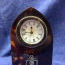 Relojes de carga manual: RELOJ CAJA CAREY PLATA INGLATERRA. Lote 121367831
