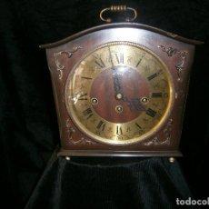 Relojes de carga manual: RELOJ DE SOBREMESA MOVIMIENTO CUERDA CARRILLÓN FHS REF.340-020 ALEMANIA (FUNCIONANDO). Lote 121371083