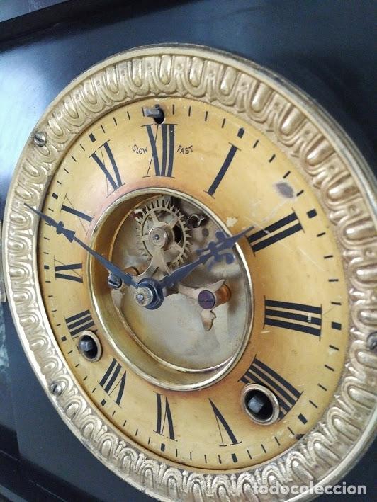 Relojes de carga manual: RELOJ ANSONIA SIGLO XIX. - Foto 2 - 121430183