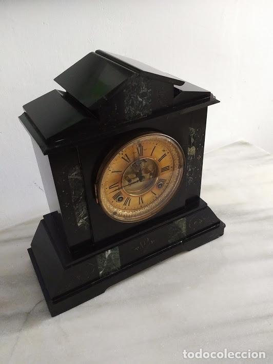 Relojes de carga manual: RELOJ ANSONIA SIGLO XIX. - Foto 10 - 121430183