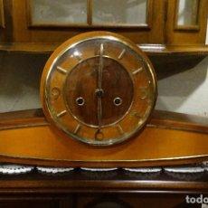 Relojes de carga manual: RELOJ DE MESA ART-DECO AÑOS 20.FUNCIONANDO. Lote 121458407