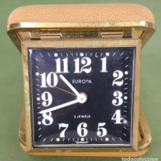 Relojes de carga manual: RELOJ DESPERTADOR DE VIAJE. EUROPA. ALREMANIA. CIRCA 1950. . Lote 121701967