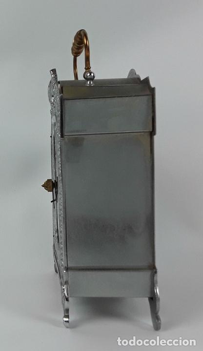 Relojes de carga manual: RELOJ DE MESA. LATÓN. GRAND PRIX DE LHORLOGERIE 1878. FRANCIA. - Foto 3 - 121838999