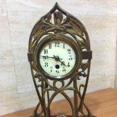 Relojes de carga manual: RELOJ SOBREMESA MODERNISTA. Lote 122112258
