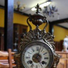 Relojes de carga manual: RELOJ BRONCE, LUIS XV, DE 1915 - 1920. REF. 6240. Lote 122478771