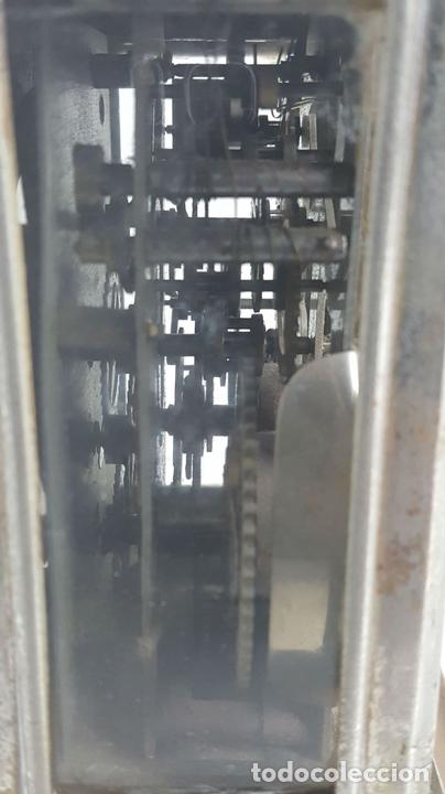 Relojes de carga manual: RELOJ DESPERTADOR DE CARRUAJE. MAQUINARIA JUNGHANS. ALEMANIA. SIGLO XIX-XX. - Foto 7 - 123454227