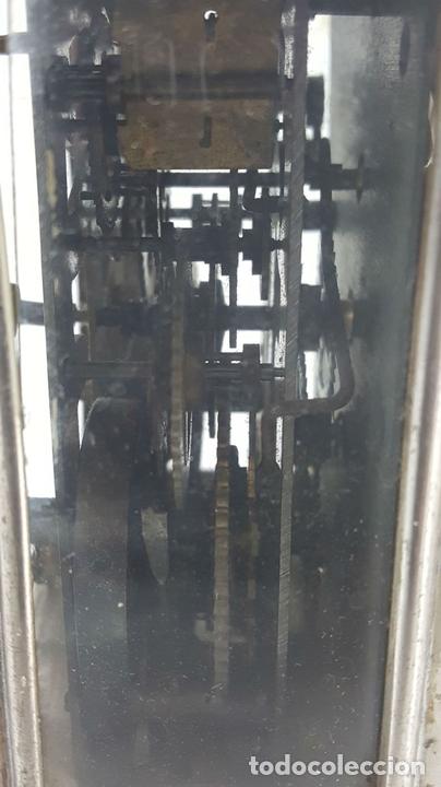 Relojes de carga manual: RELOJ DESPERTADOR DE CARRUAJE. MAQUINARIA JUNGHANS. ALEMANIA. SIGLO XIX-XX. - Foto 11 - 123454227