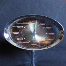 Relojes de carga manual: RELOJ DE SOBREMESA SPACE AGE MARCA IMPEX - FUNCIONA, CON ALARMA. Lote 123495899