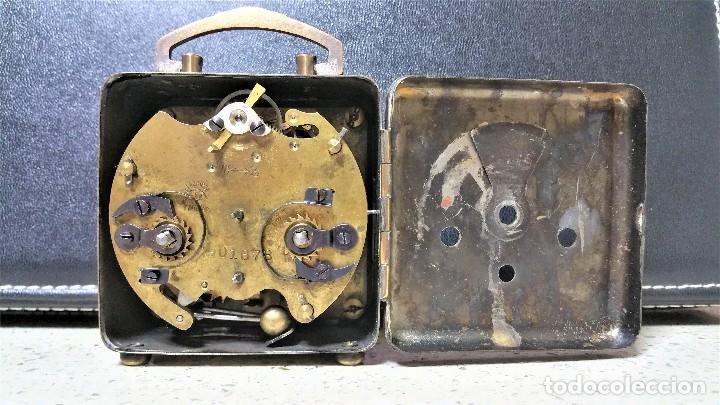 Relojes de carga manual: x2: LENZKIRCH AGU 1 MILLION ALARMA 1.890 GERMANI + CLÁSICO CAMPANAS LATÓN MECÁNICO CHECOSLOVAQUIA - Foto 17 - 104801079