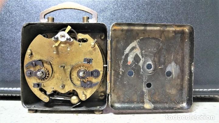 Relojes de carga manual: x2: LENZKIRCH AGU 1 MILLION ALARMA 1.890 GERMANI + CLÁSICO CAMPANAS LATÓN MECÁNICO CHECOSLOVAQUIA - Foto 19 - 104801079