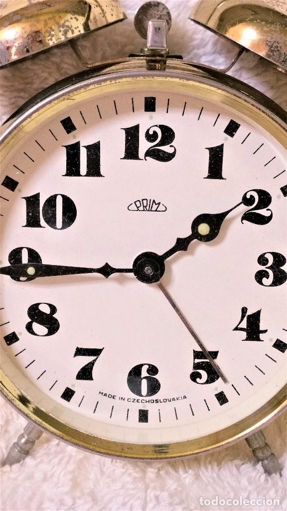 Relojes de carga manual: x2: LENZKIRCH AGU 1 MILLION ALARMA 1.890 GERMANI + CLÁSICO CAMPANAS LATÓN MECÁNICO CHECOSLOVAQUIA - Foto 32 - 104801079