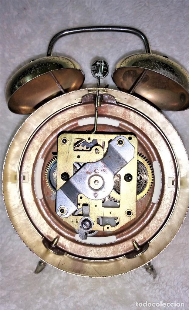 Relojes de carga manual: x2: LENZKIRCH AGU 1 MILLION ALARMA 1.890 GERMANI + CLÁSICO CAMPANAS LATÓN MECÁNICO CHECOSLOVAQUIA - Foto 40 - 104801079