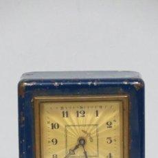 Relojes de carga manual: RARO RELOJ HUCHA. BANCO SANTANDER. CAJA DE AHORROS. Lote 124514643