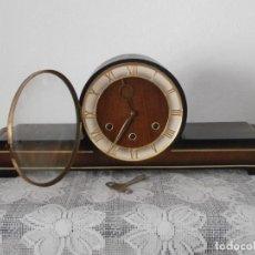 Relojes de carga manual: RELOJ ANTIGUO ALEMAN DE CHIMENEA MESA SOBREMESA SONERIA CAMPANADAS MELODÍA CATEDRAL BIB BEN CARILLÓN. Lote 124673795