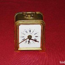 Relojes de carga manual: ANTIGUO RELOJ DE SOBREMESA CON ESCAPE DE PENDULO. Lote 125153127