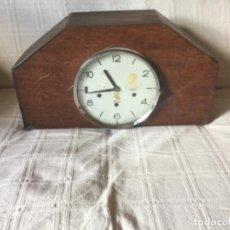 Relojes de carga manual: GRAN RELOJ DE SOBREMESA MAQUINARIA SMITHS, GREAT BRITAIN. CAMPANADAS BIG BEN. FUNCIONANDO. Lote 125198451