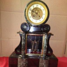 Relojes de carga manual: ESPECTACULAR RELOJ NOTARIO ESCAPE VISTO CENTRO ESFERA BRONCE AL MERCURIO SIGLO XIX IMPECABLE. Lote 125235918