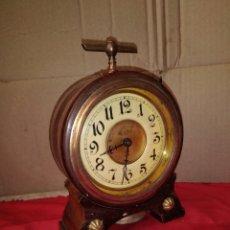 Relojes de carga manual: RARO RELOJ DESPERTADOR DE 1850. Lote 125239020