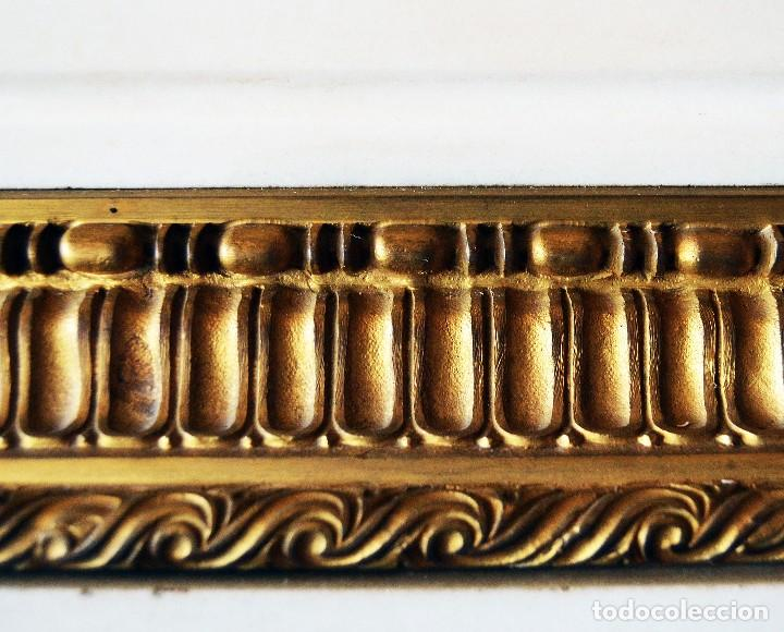 Relojes de carga manual: reloj de sobremesa con guarnicion siglo xix - Foto 6 - 126855003
