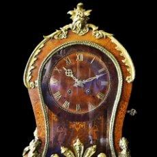 Relojes de carga manual: RELOJ DE SOBREMESA ESTILO LUIS XV SIGLO XIX. Lote 126855979