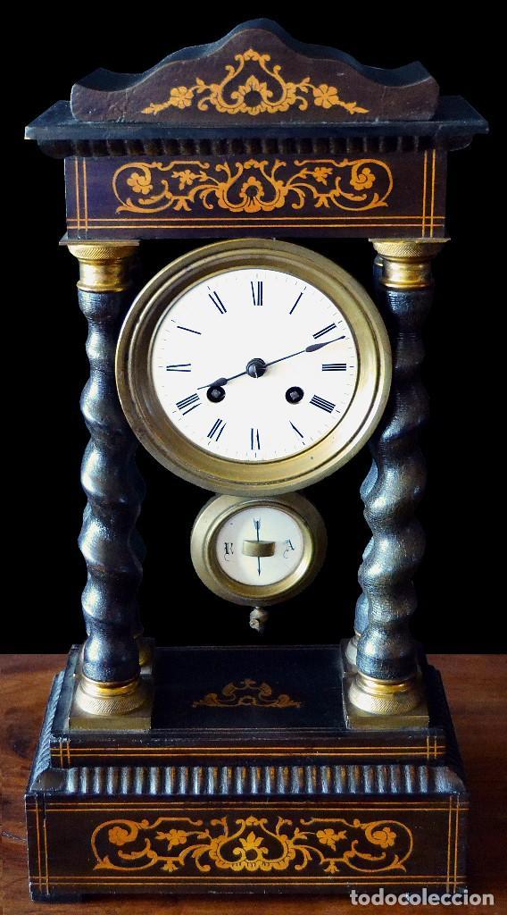 RELOJ IMPERIO SIGLO XIX (Relojes - Sobremesa Carga Manual)