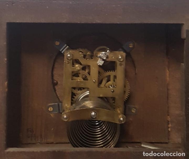 Relojes de carga manual: Reloj de sobremesa de madera - Foto 4 - 127652779