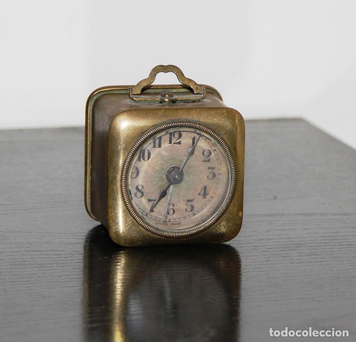 Relojes de carga manual: ANTIGUO RELOJ ALEMAN DOBLE FLECHA - Foto 4 - 128346803