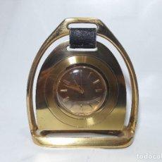 Relojes de carga manual: RELOJ DESPERTADOR ANDRE WYLER, HACIA 1950, FUNCIONANDO, MEDIDA 13,5 X 15 CM.. Lote 128716871