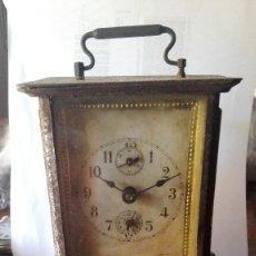 Relojes de carga manual: RELOJ DE SOBREMESA TIPO CARRUAJE.. Lote 128745475