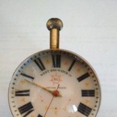 Horloges à remontage manuel: RELOJ DE SOBREMESA BOLA, LUPA, SWISS MADE, WEST END WATCH Cº - XL ,NO FUNCIONA. Lote 129466263