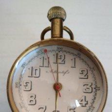 Relojes de carga manual: RELOJ DE SOBREMESA BOLA, LUPA, ATTENTIF ,NO FUNCIONA. Lote 129466687