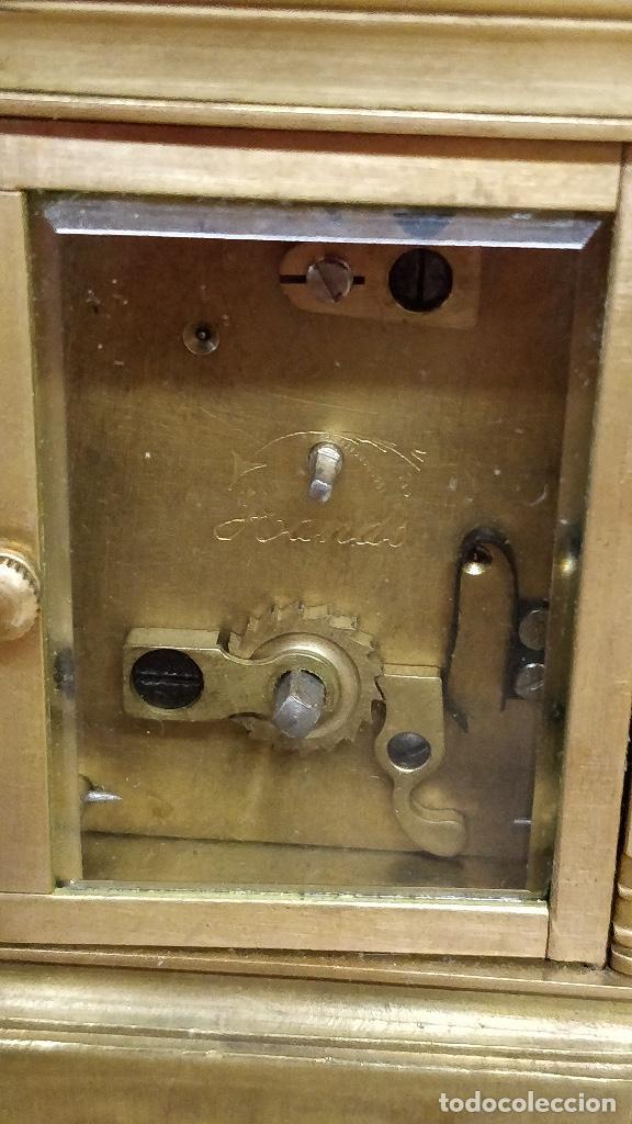 Relojes de carga manual: Antiguo reloj de viaje Elliott & Son, London. - Foto 3 - 129679903