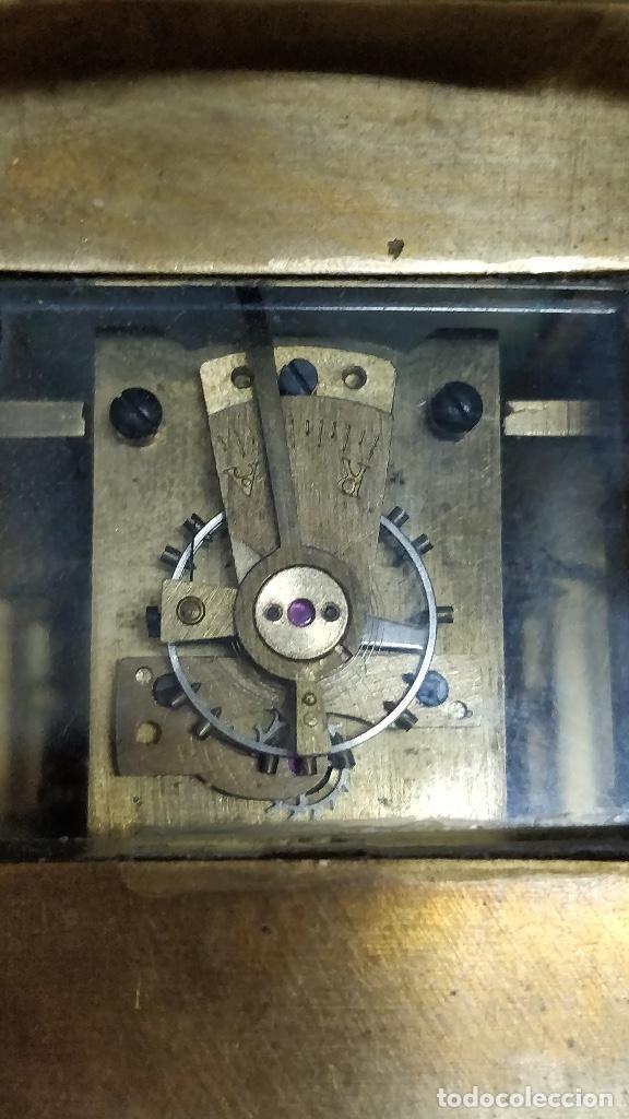 Relojes de carga manual: Antiguo reloj de viaje Elliott & Son, London. - Foto 5 - 129679903