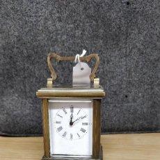 Relojes de carga manual: RELO DE VIAJE ANTIGUO, SOBREMESA CARGA MANUAL. Lote 129694687