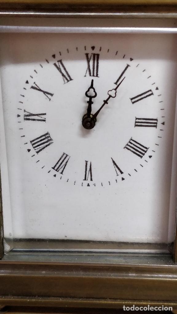 Relojes de carga manual: Relo de viaje Antiguo, sobremesa carga manual - Foto 2 - 129694687