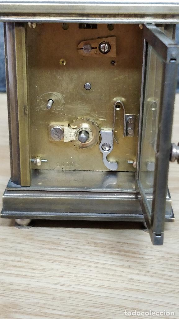 Relojes de carga manual: Relo de viaje Antiguo, sobremesa carga manual - Foto 3 - 129694687