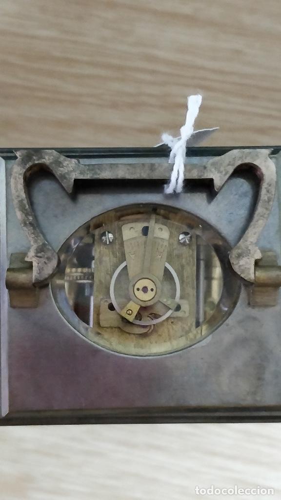Relojes de carga manual: Relo de viaje Antiguo, sobremesa carga manual - Foto 5 - 129694687