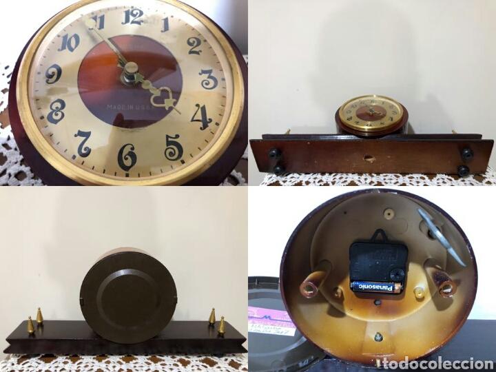 Relojes de carga manual: Reloj vintage sobremesa, Ruso, Verna. Años 60 - Foto 4 - 130118826