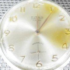 Relojes de carga manual: ANTIGUO Y GRAN TITAN DE BOLSIILO SUIZO GRAN MAQUINARIA !!! FUNCIONA LOTE WATCHE. Lote 130968040