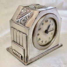 Relojes de carga manual: ANTIGUO RELOJ SOBREMESA ART DECO FUNCIONA ESTILO C. TERRRAS. Lote 131224215