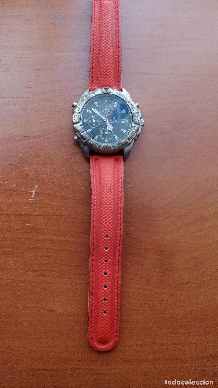 RELOJ RADIANT DE CABALLERO - MOD.YM52 TPD075PM - CON CORREA DE NEOPRENO (Relojes - Sobremesa Carga Manual)