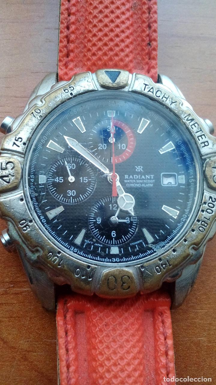 Relojes de carga manual: RELOJ RADIANT DE CABALLERO - MOD.YM52 TPD075PM - CON CORREA DE NEOPRENO - Foto 2 - 131272987